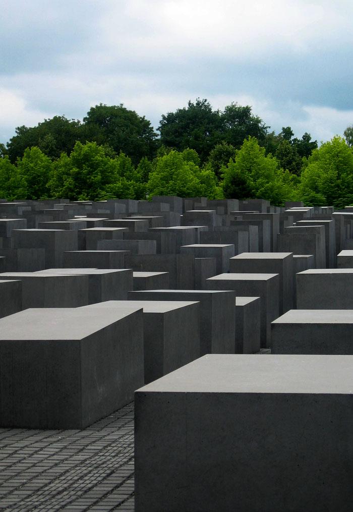Das Denkmal für die ermordeten Juden Europas